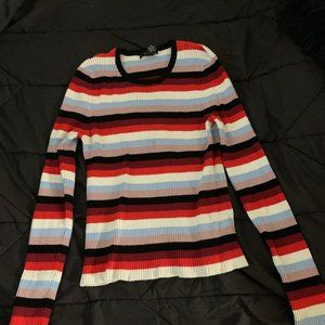 Multicolored Forever 21 Sweater Large
